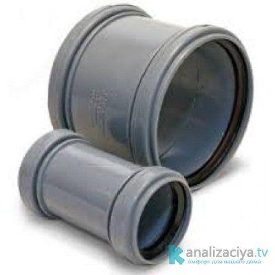 Соединение канализационных труб : способы по видам